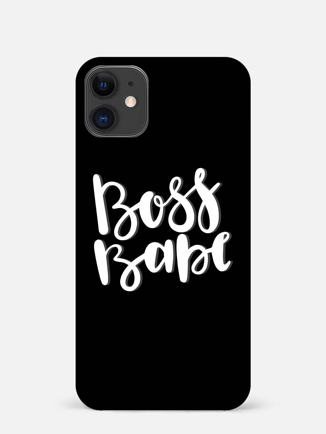 Boss Babe iPhone 12 Mini Mobile Cover