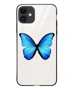 Butterfly iPhone 12 Mini Glass Case Cover
