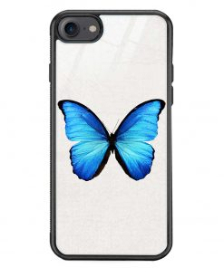 Butterfly iPhone 8 Glass Case Cover
