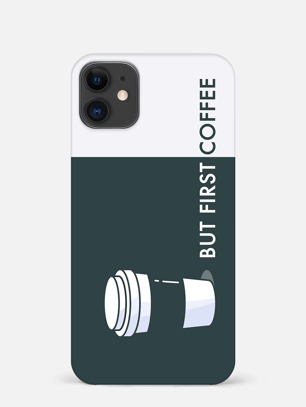 But First Coffee iPhone 12 Mini Mobile Cover