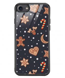 Cookies iPhone 8 Glass Case Cover