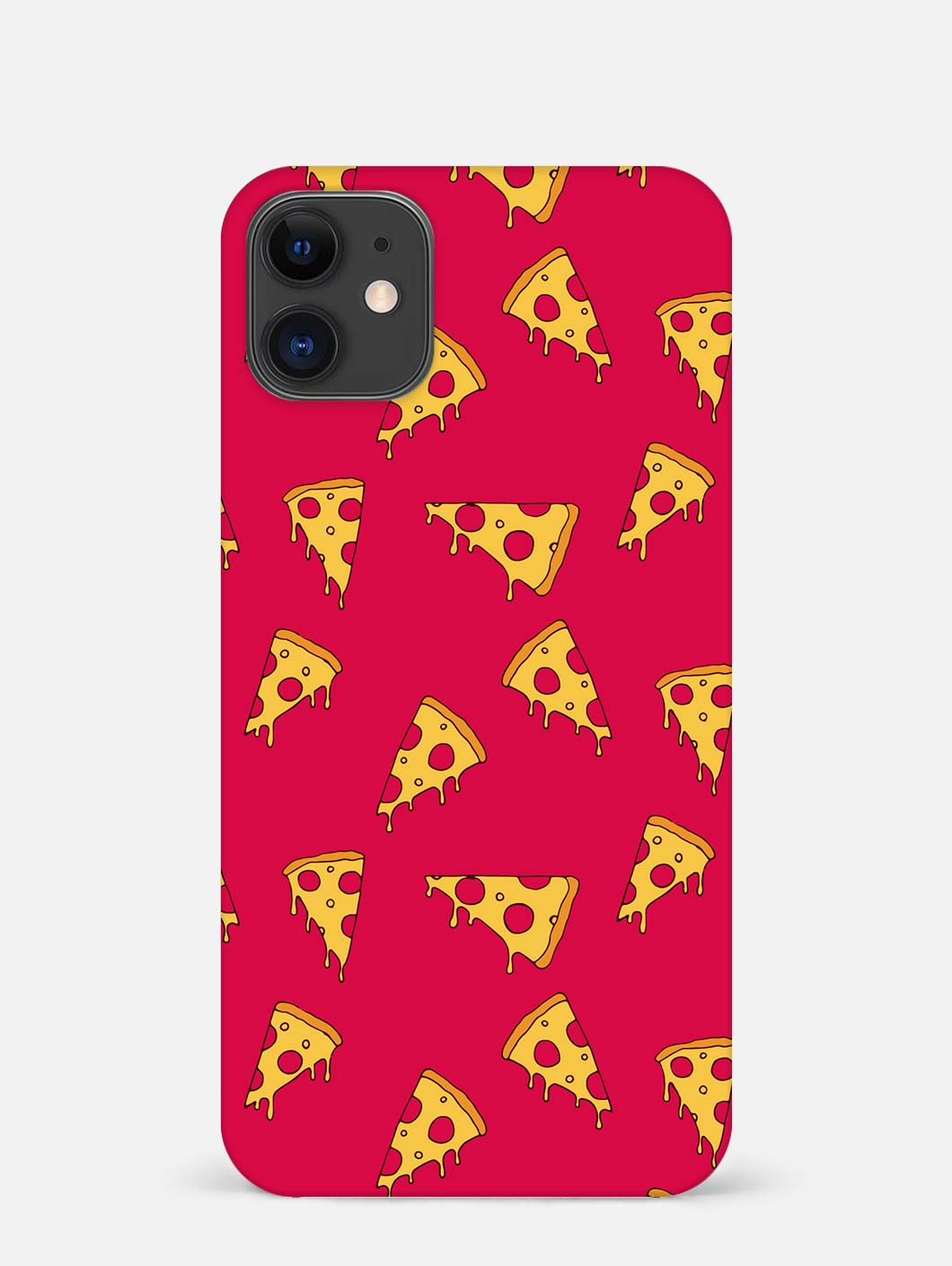 Pizza Pattern iPhone 12 Mini Mobile Cover