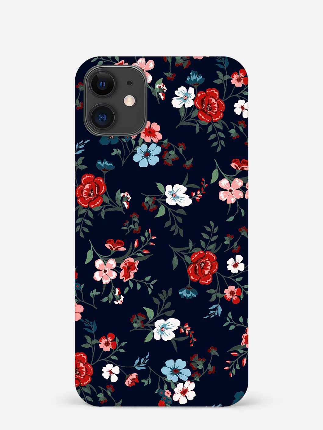 Retro Flower iPhone 12 Mini Mobile Cover