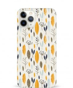 Botanical Pattern iPhone 11 Pro Max Mobile Cover