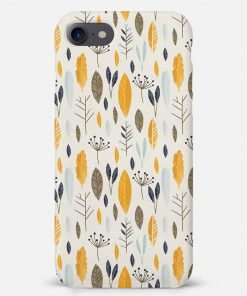 Botanical Pattern iPhone SE Mobile Cover