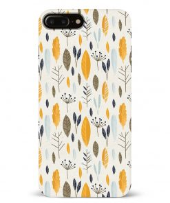 Botanical Pattern iPhone 8 Plus Mobile Cover