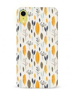 Botanical Pattern iPhone XR Mobile Cover