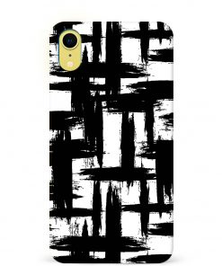 Monochrome iPhone XR Mobile Cover