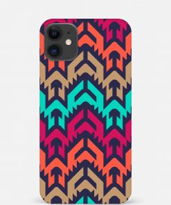 Mixed Colors iPhone 11 Mobile Cover
