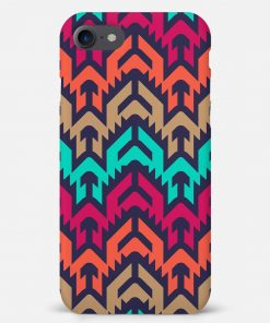 Mixed Colors iPhone SE Mobile Cover