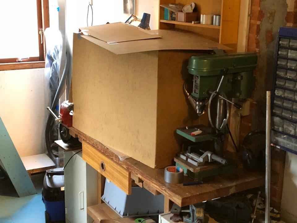 Heating box