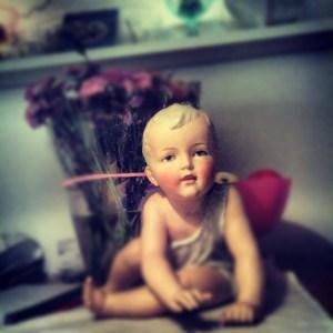 crawling doll