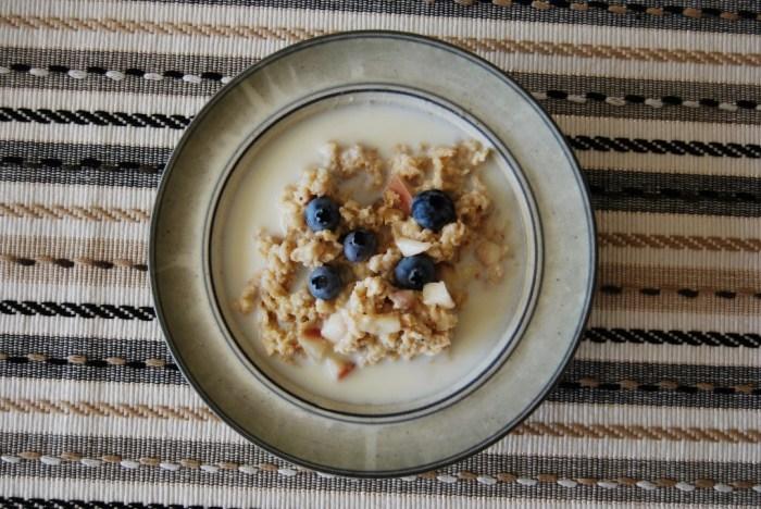 porridge breakfast