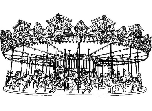 Full list for  d  thanhhunggroup info Carousel coloring pages kids