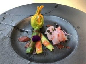 ズッキーニの花の前菜