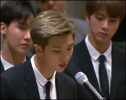 BTSのRMスピーチ