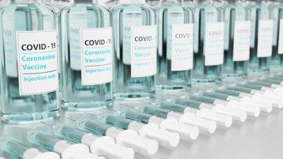 コロナワクチンの瓶