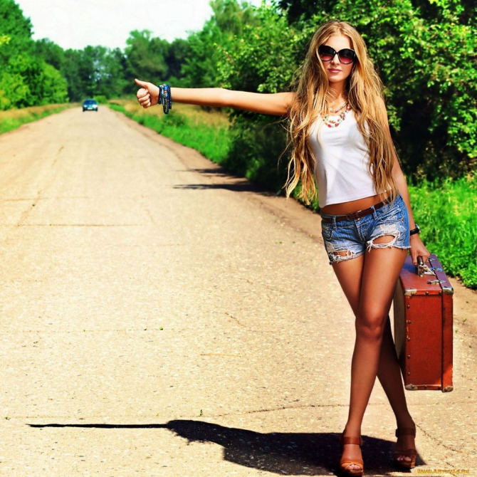 hitchhiker-sexy-woman