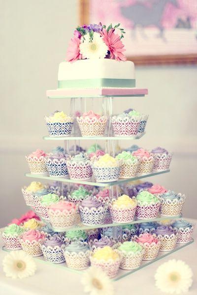 Bolos De Cupcake Decorados Para Festa Modelos Toda Atual
