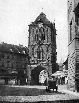 Fotografía Torre de la Pólvora año 1856.