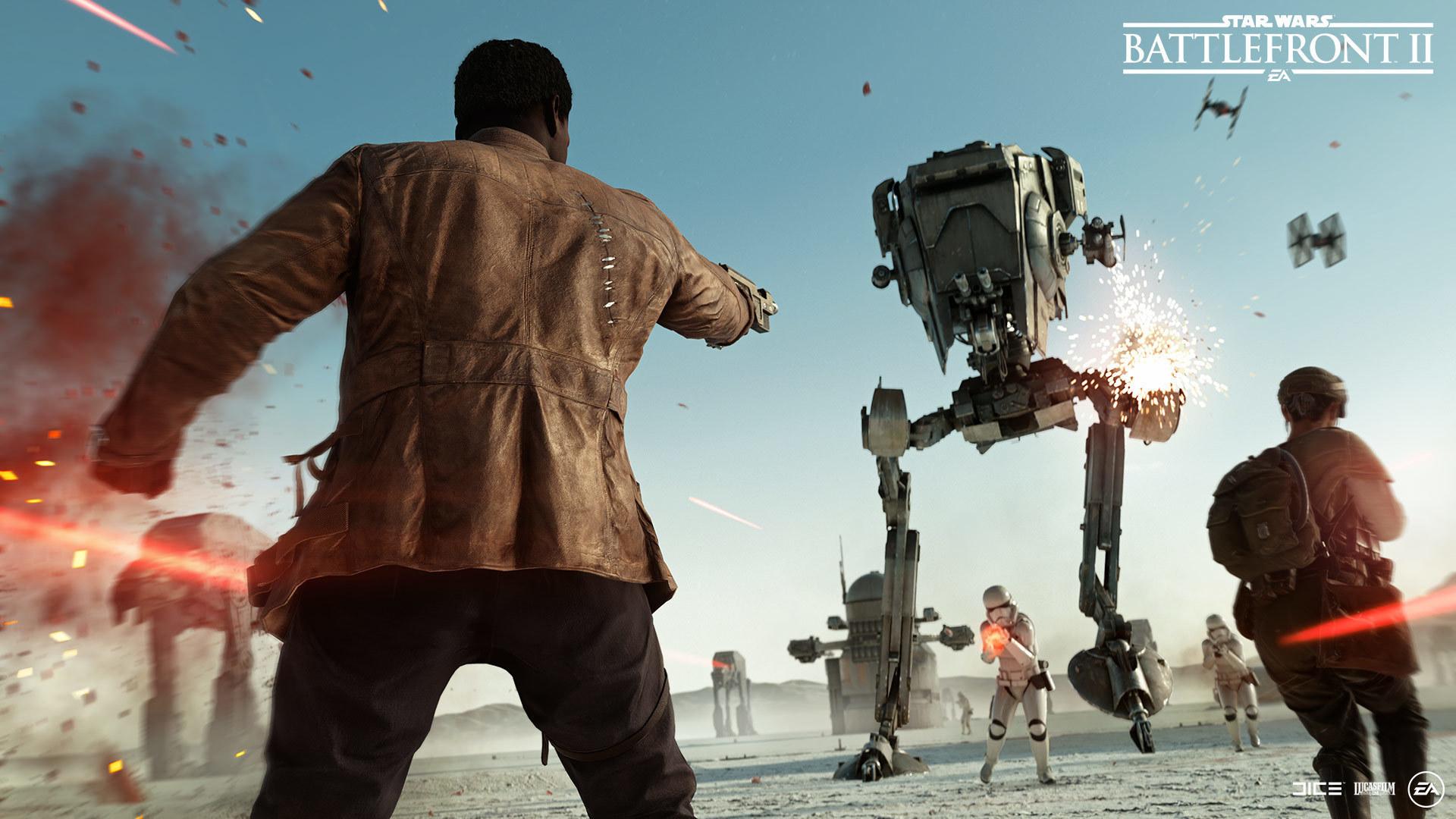 Star Wars BattleFront 2 Resurrection DLC The Last Jedi