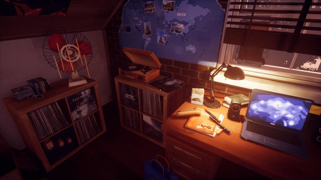 Marie's Room escritorio
