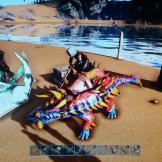 Esta era mi anquilosaurio Macarena, cuando vi sus colores tenía que ser mía