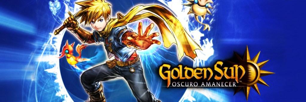 banner Golden Sun Oscuro Amanecer