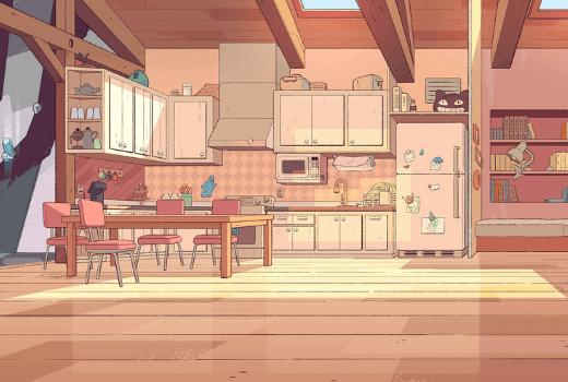 Cocina de la casa de Steven de Steven Universe