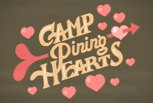 Camp Pinning Hearts logo de Steven Universe