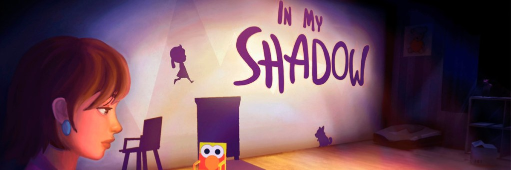 """Banner """"In my shadow"""""""
