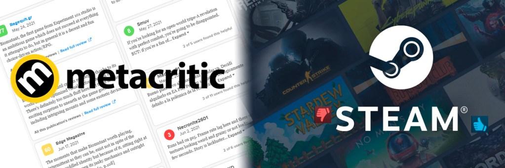 Banner del artículo de opinión Es hora de poner fin a las notas en videojuegos