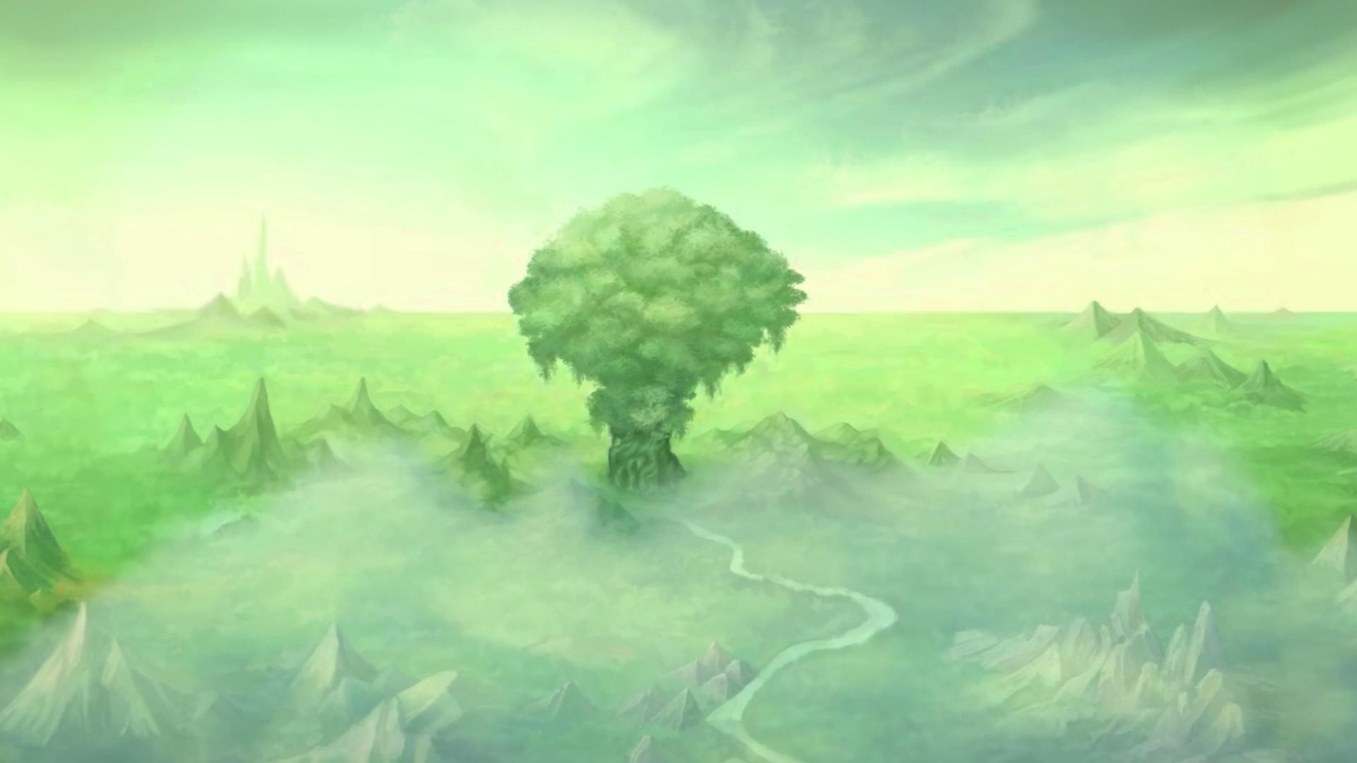 Árbol de Mana en medio del reino