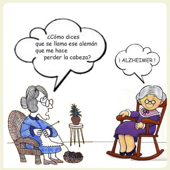 Chistes gráficos de amigos EL alzheimer