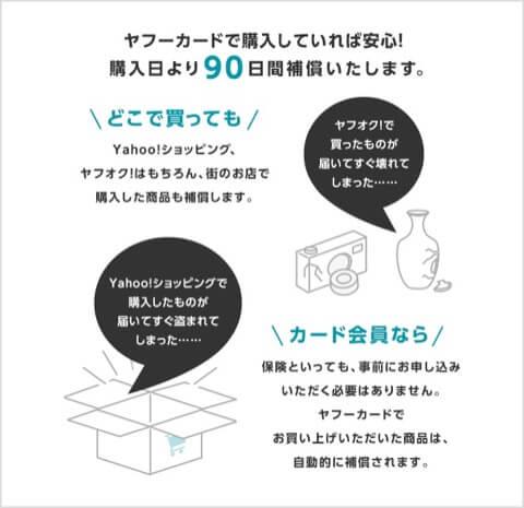 買い物補償 Yahoo! JAPANカード