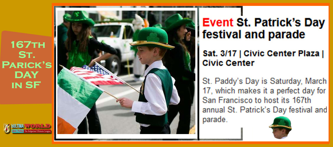 St. Patrick's Day festival and parade.