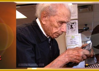 107 Years Old Barber