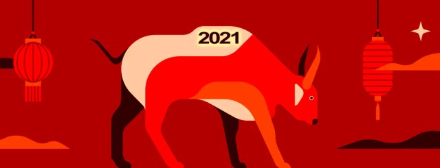 Chinese New 2021 Ox
