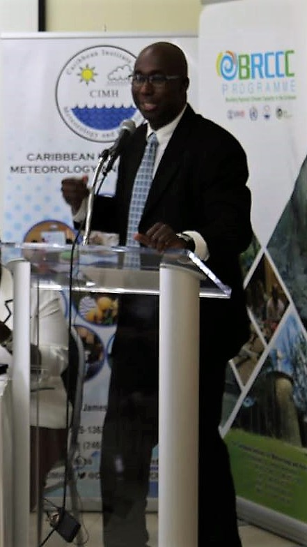 Director of the Regional Climate Centre Adrian Trotman