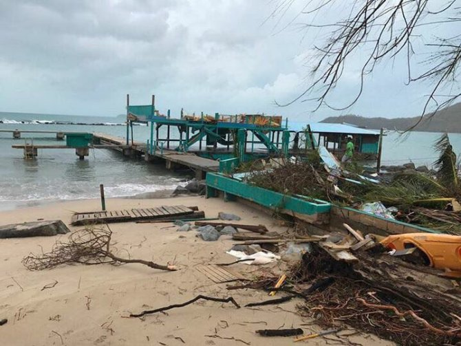 Destruction caused by Hurricane Irma - British Virgin Islands (BVI News Online, 2017)