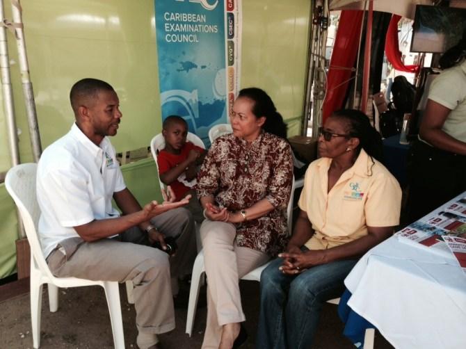 CXC Assistant Registrar elaborating on new CAPE syllabuses