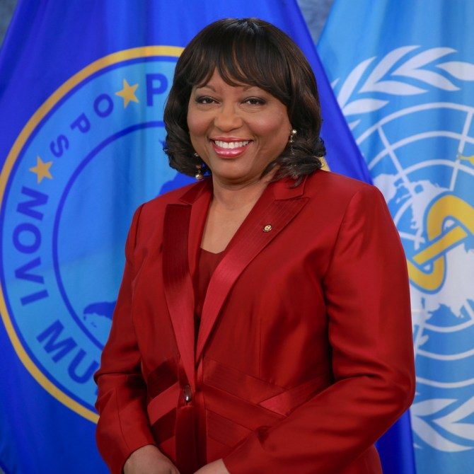 Dr. Carissa Etienne, PAHO Director 2018-2023