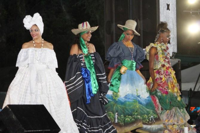 FLASHBACK: Fashion at CARIFESTA XII in Haiti (CARICOM Secretariat photo)