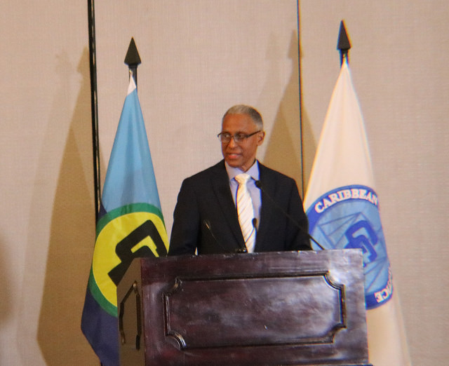 Justice Adrian Suanders, President of the Caribbean Court of Justice