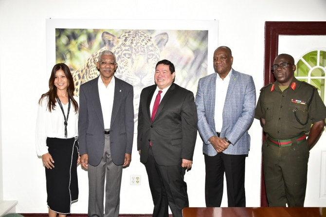 Guyana, Mexico strengthen military to military relations in the area of disaster response and management following CARICOM-Mexico Summit