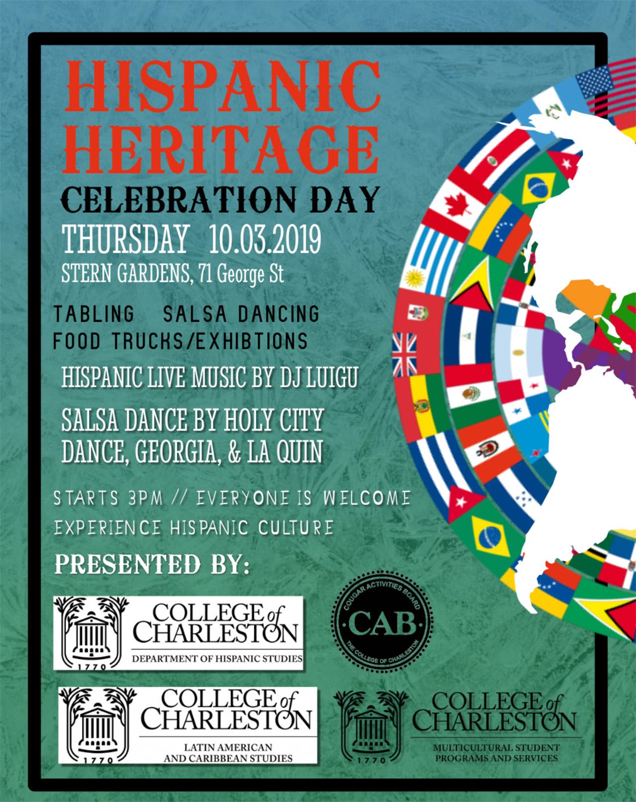 Hispanic Heritage Month Celebration Happening Oct 3