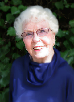 Portrait of Faye Anglen near retirement.