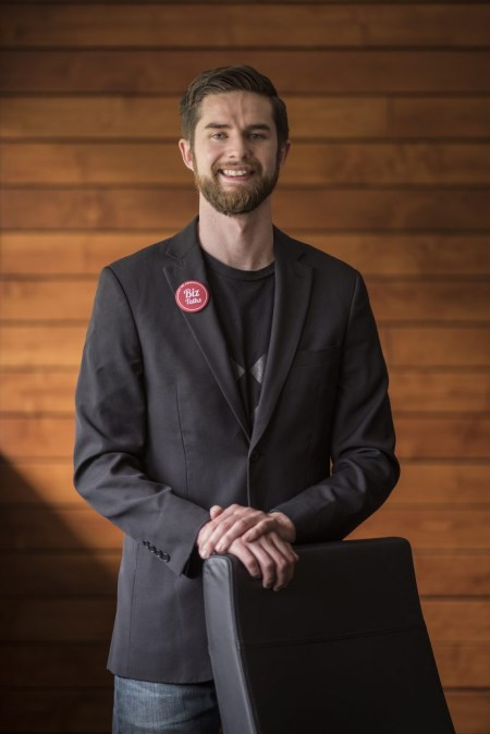 Chico State College of Business alum Sean Woulfe cofounded Biz Talks.
