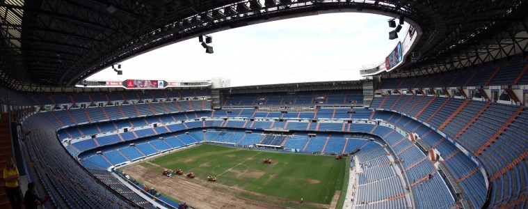 Estadio Santiago Bernabéu, home to Real Madrid CF, was one of the first stops the Chico State men's soccer team made during its trip to Spain