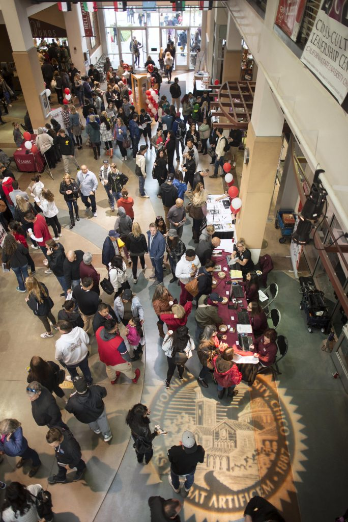 Chico State is preparing to welcome thousands of potential students and their families to the annual Choose Chico! on Saturday, April 7, 2017. The event is an open house that offers admitted students and their guests an opportunity to experience what Chico State has to offer.
